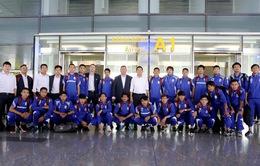 ĐT Campuchia đặt quyết tâm cao trong chuyến đến làm khách tại SVĐQG Mỹ Đình