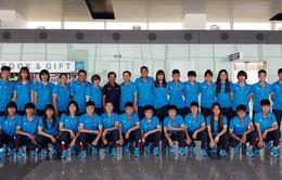 ĐT U19 nữ Việt Nam lên đường tham dự VCK U19 nữ châu Á 2017