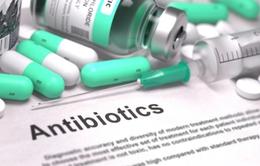 1/5 số toa thuốc tại Anh không nhất thiết phải kê kháng sinh