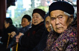 Số lượng người cao tuổi Trung Quốc sắp cán mốc 400 triệu
