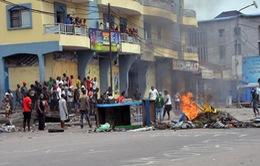 Biểu tình biến thành bạo lực tại CHDC Congo, 5 người tử vong