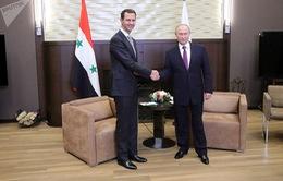 Tổng thống Syria và Tổng thống Nga thảo luận chấm dứt xung đột tại Syria