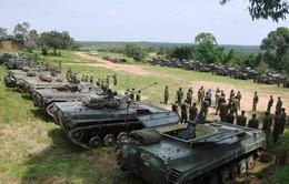 Lực lượng trực chiến Đông Phi diễn tập huấn luyện thực địa tại Sudan