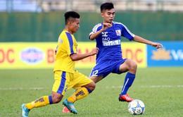 Giải U21 Quốc gia 2017: Sông Lam Nghệ An giành tấm vé thứ 2 vào bán kết