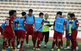 Buổi tập chiều 11/12 của U23 Việt Nam: Sửa lỗi và rèn tấn công, phòng ngự