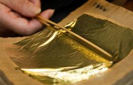 Đến nơi làm ra những lá vàng siêu mỏng chỉ dày 0.0001mm