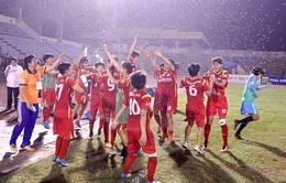 Thắng Hà Nam sau loạt penalty, TP HCM 1 vô địch giải bóng đá nữ