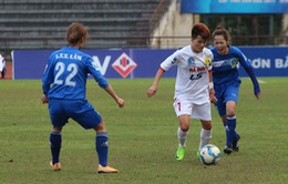 Giải bóng đá nữ VĐQG 2017: Hà Nội I giành suất cuối cùng vào bán kết