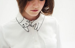 Những gợi ý giúp cổ áo sơ mi cực độc đáo dành cho các bạn nữ