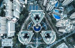 Singapore lạ mà quen khi nhìn từ trên cao