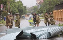 Hà Tĩnh: Ngổn ngang nơi tâm bão số 10 đổ bộ