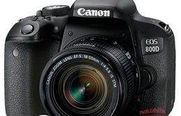 Chi tiết hình ảnh Canon EOS 77D và EOS 800D bất ngờ rò rỉ