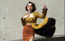 Tóc Tiên quyến rũ gây chú ý tại Seoul Fashion Week 2017
