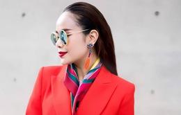 Diện đồ phong cách menswear, Hoa hậu Sella Trương siêu rực rỡ và sang chảnh