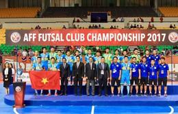 Sanna Khánh Hòa giành ngôi Á quân Giải vô địch futsal các CLB Đông Nam Á 2017