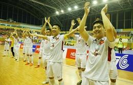 Giải futsal vô địch Đông Nam Á 2017: ĐT futsal Việt Nam gặp ĐT futsal Malaysia ở bán kết