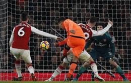 VIDEO diễn biến chính trận Arsenal 3-3 Liverpool
