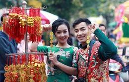 Hotboy thể dục Phạm Phước Hưng du xuân cùng bạn gái xinh đẹp