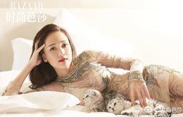 Trần Kiều Ân khoe vẻ gợi cảm tuổi tứ tuần trên tạp chí thời trang