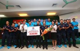LĐBĐVN tổ chức gặp mặt chúc mừng đội tuyển U15 quốc gia