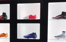 """Ronaldo khoe bộ sưu tập giày """"khủng"""" hơn 15 tỷ đồng"""
