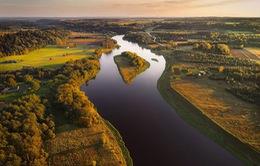 Litva đẹp ngỡ ngàng với góc chụp từ trên cao