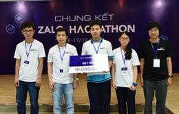 Học sinh cấp 3 giành giải cao ở Zalo Hackathon 2017