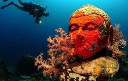 """Bí mật phía sau ngôi chùa """"2000 năm tuổi"""" nằm sâu trong lòng đại dương"""