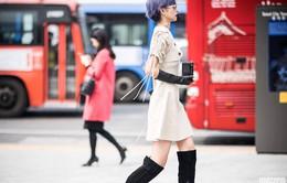 Cắt tóc tém, Phí Phương Anh gây ấn tượng với street style chất miễn bàn