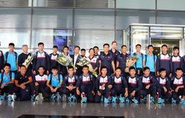 U16 Việt Nam về nước, tự tin hướng tới VCK U16 châu Á 2018