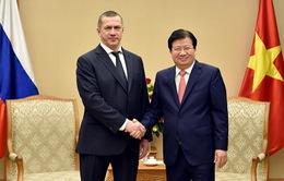 """""""Việt Nam luôn coi trọng và ưu tiên hợp tác mọi mặt với Nga"""""""
