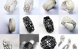 Độc đáo phụ kiện thời trang cao cấp in 3D