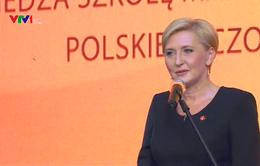 Phu nhân Tổng thống Ba Lan thăm trường Marie Curie