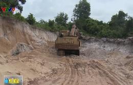Tràn lan khai thác khoáng sản trái phép ở Phú Quốc, Kiên Giang