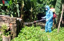 Một số địa điểm ở Hà Nội chưa phun thuốc phòng chống sốt xuất huyết