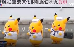 Vui nhộn lễ hội Pikachu ở Nhật Bản