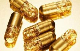 """Những viên thuốc vàng 24k """"gây sốt"""""""