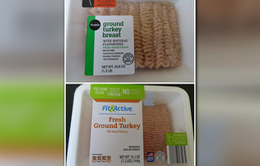 Mỹ thu hồi thịt gà tây chứa mảnh vụn kim loại