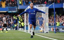 Qua mặt De Bruyne, Hazard xuất sắc nhất nước Bỉ