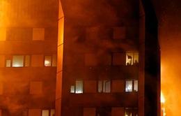 Đám cháy chung cư tại Anh đã được dập tắt