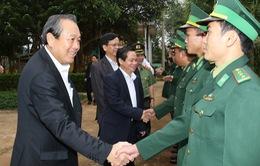 Phó Thủ tướng Trương Hòa Bình thăm và chúc Tết các đồn biên phòng tại Đăk Nông