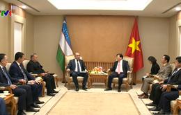 Phó Thủ tướng Trịnh Đình Dũng tiếp Phó Thủ tướng Uzbekistan Mirzaev Zoiyr