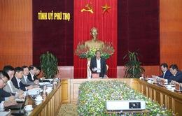 Kiểm tra công tác phòng chống tham nhũng tại Phú Thọ