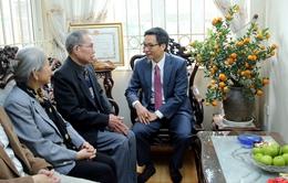 Phó Thủ tướng Vũ Đức Đam chúc Tết văn nghệ sĩ, nhà khoa học