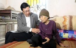 Phó Thủ tướng Phạm Bình Minh thăm, chúc Tết hộ nghèo và gia đình chính sách