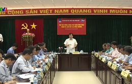 Phó Thủ tướng Trịnh Định Dũng kiểm tra tiến độ xây dựng các nhà máy nhiệt điện