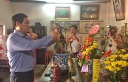 Phó Thủ tướng Vương Đình Huệ dâng hương tưởng niệm đồng chí Phan Đăng Lưu