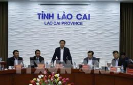 Phó Thủ tướng Vương Đình Huệ làm việc tại Lào Cai