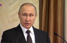 Tổng thống Nga nhận được sự ủng hộ lớn