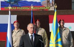 Tổng thống Nga V.Putin ra lệnh rút quân khỏi Syria